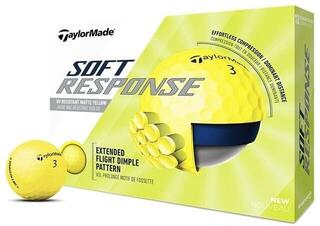 Taylormade Soft Response Golf Balls Yellow