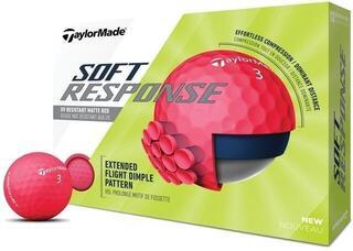 TaylorMade Soft Response Golf Balls Red