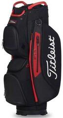 Titleist Cart 15 StaDry Cart Bag Black/Black/Red