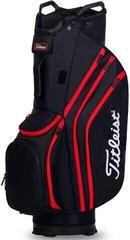 Titleist Cart 14 Lightweight Cart Bag Black/Black/Red