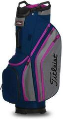 Titleist Cart 14 Lightweight Cart Bag Navy/Graphite/Magenta