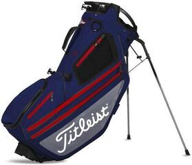 Titleist Hybrid 14 Stand Bag Navy/Grey/Red