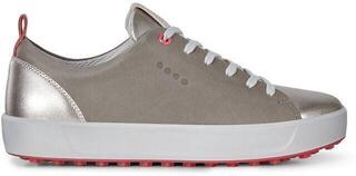 Ecco Soft Womens Golf Shoes Warm Grey