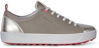 Ecco Soft Womens Golf Shoes Warm Grey