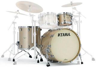 Tama Starclassic Maple Jazz Champagne Sparkle Chrome Hardware
