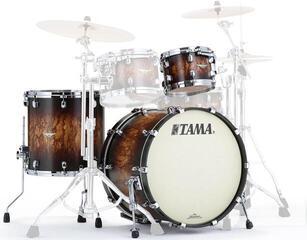 Tama Starclassic Maple Jazz Molten Satin Brown Burst Chrome HW
