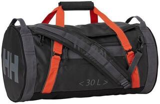 Helly Hansen Duffel Bag 2 Ebony/Cherry Tomato/Charcoal/Quiet Shade