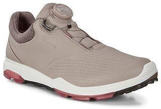 Ecco Biom Hybrid 3 Womens Golf Shoe Grey Rose/Petal