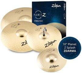 Zildjian Planet Z 4 Pack + 10'' Planet Z Splash Beckensatz