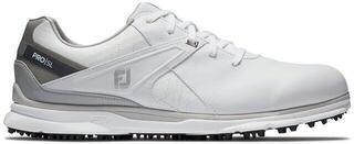Footjoy Pro SL Mens Golf Shoes Бял/Cив