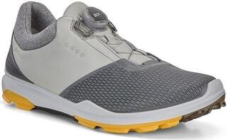 Ecco Biom Hybrid 3 Mens Golf Shoes Titanium/Concrete