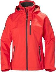 Helly Hansen W Crew Hooded Jacket Alert Red