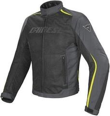 Dainese Hydra Flux D-Dry Jacket Black/Dark Gull Gray/Fluo Yellow