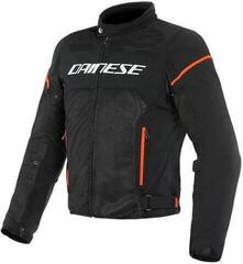 Dainese Air Frame D1 Tex Jacket Black/White/Fluo Red