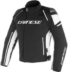 Dainese Racing 3 D-Dry Jacket Black/Black/White