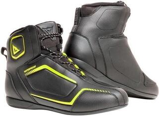 Dainese Raptors D-WP Shoes Black/Black/Fluo Yellow