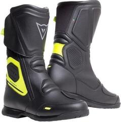 Dainese X-Tourer D-WP Boots Black/Fluo Yellow