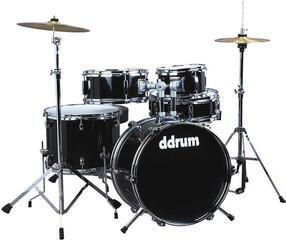 DDRUM D1 Junior Junior Drum Set Black Midnight Black