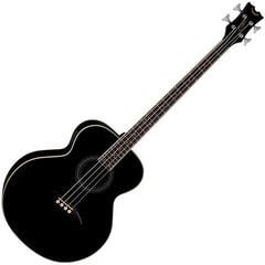 Dean Guitars Acoustic/Electric Bass - Classic Black