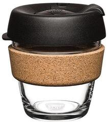 KeepCup Black Brew Cork SiX