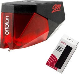 Ortofon 2M RED + Ortofon Carbon Fiber Record Brush Red