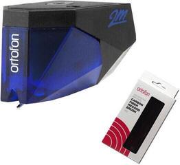 Ortofon 2M BLUE + Ortofon Carbon Fiber Record Brush Red