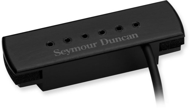 Seymour Duncan Woody XL Hum Cancelling With Adjustable Pole Pieces Black