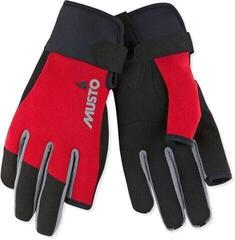 Musto Essential Sailing Long Finger Glove True Red