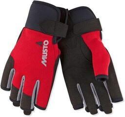 Musto Essential Sailing Short Finger Glove True Red
