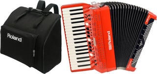 Roland FR-4x SET Red Piano accordion
