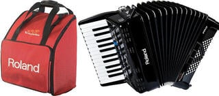 Roland FR-1x SET Black Piano accordion