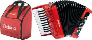 Roland FR-1x SET Red Piano accordion