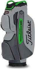 Titleist Cart 15 StaDry Cart Bag Grey/Charcoal/Apple
