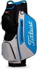 Titleist Cart 15 StaDry Cart Bag Black/Process Blue/Grey