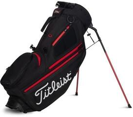 Titleist Hybrid 5 Stand Bag Black/Black/Red