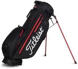Titleist Players 4 Plus StaDry Stand Bag Black/Black/Red