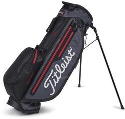Titleist Players 4 Plus StaDry Stand Bag Black/Charcoal/Red