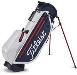 Titleist Players 4 Plus StaDry Stand Bag Navy/White/Red