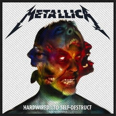 Metallica Hardwired To Self Destruct Sew-On Patch