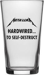 Metallica Hardwired To Self Destruct Beer Glass