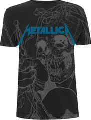 Metallica Japanese Justice (All Over) T-Shirt Black