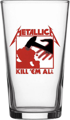 Metallica Kill 'Em All Beer Glass