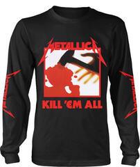 Metallica Kill Em All Long Sleeve Shirt Black