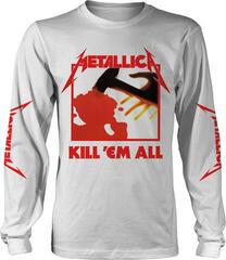Metallica Kill Em All Long Sleeve Shirt White