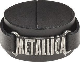 Metallica Logo Leather Wriststrap