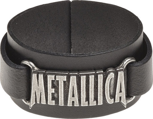 Metallica Logo Leather Wriststrap