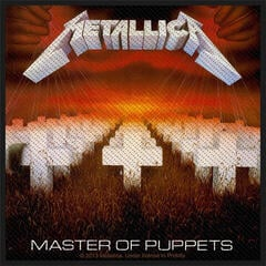Metallica Master Of Puppets Sew-On Patch