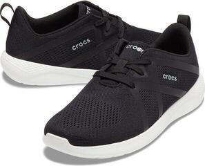 Crocs Men's LiteRide Modform Lace Black/White 46-47