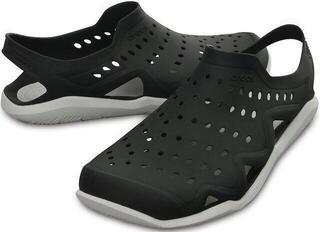 Crocs Men's Swiftwater Wave Black/Pearl White