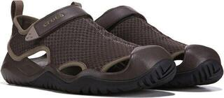 Crocs Men's Swiftwater Mesh Deck Sandal Espresso